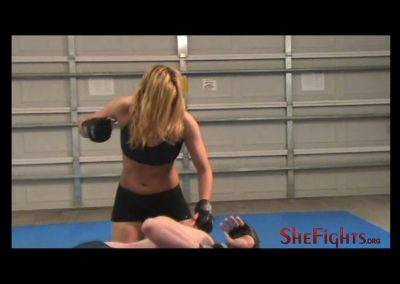 Julie G MMA Beatdown vs Mark