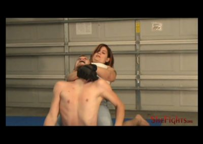 Kelly Ann Beats And Breaks Charly Stilletto