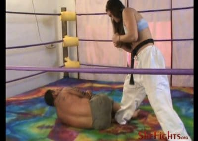 Cindy´s Gi Beatdown Of Jason Saints Her Most Brutal Yet