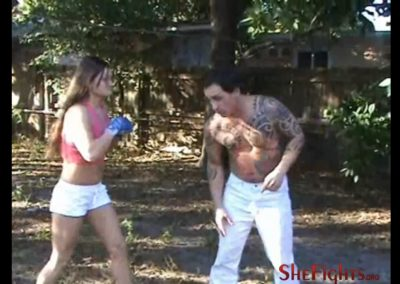 Barefisted barefoot beatdown mikaela has no mercy - 3 3