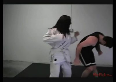Rebeckah Gi Beatdown