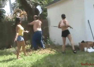 Public Whipping of Mikaela's Slave